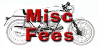 Miscellaneous Fees