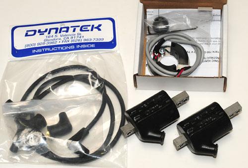 Dynatek Kit for 750 GT/Sport - Dyna-S Electronic Ignition + Dyna Wires +  Dyna 5 ohm Coils