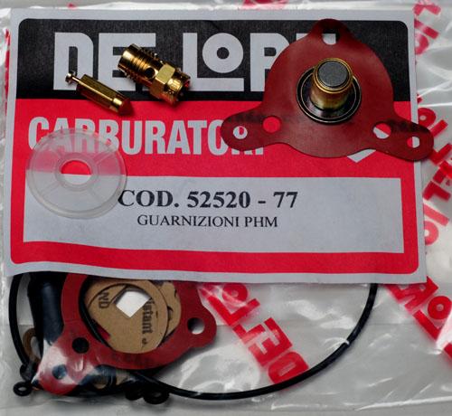 Dellorto PHF or PHM Major Rebuild Kit Special