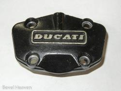 Cover - Cam Bearing Black Paso etc