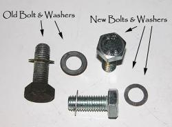 Caliper Mount Bolts/Spacers