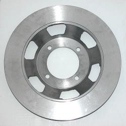 Brake Rotor - 4 Bolt, 280mm, Solid