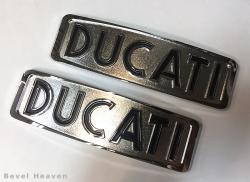 Gas Tank Badge Set - DUCATI 750GT