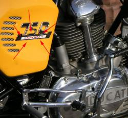 Sticker: 750 SPORT [sticker for badge]