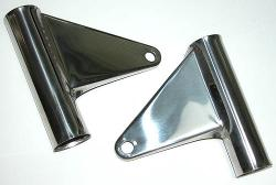Darmah Headlight Bracket Set - Stainless