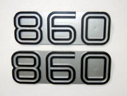 Sidecover Badge Set - 860