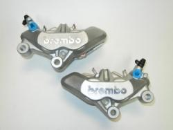 Brake Caliper - Brembo Silverline Caliper Pair - 65mm Spacing - 4 Pad Type