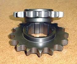 Front Sprocket 530 Chain Size - Bevel Twins - 15T & 16T