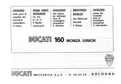Parts Catalog - 160 Monza Jr [1964-67]