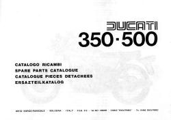 Parts Catalog - 350 & 500cc Parallel Twins