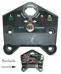 Sticker: 860/900 GTS Dash
