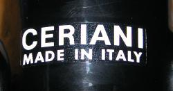 Sticker: CERIANI - white letters