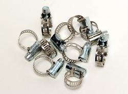 Fuel Hose Clamps - QTY 10 - 5mm Wide
