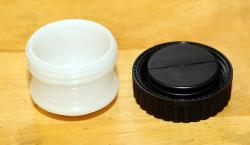 Round Reservoir CUP + BELLOW + CAP fits all round resv MC ala SS, GT, Darmah etc