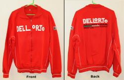 Dellorto Jacket - Zip Front - Red XL