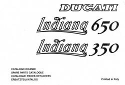 Ducati 350-650 Indiana Spare Parts Catalog - Digital