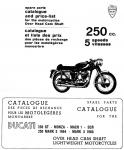 Ducati 250 5-Speed Narrow Case Parts Catalog - Digital