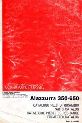 Ducati 350-650 Alazzurra Spare Parts Catalog - Digital