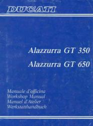 Ducati Alazzurra 350 & 650 Workshop Manual - Digital
