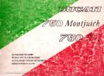 Ducati 750F1 Montjuich Spart Parts Catalog - Digital