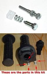 Tommaselli 2C Daytona Throttle Fastener Kit
