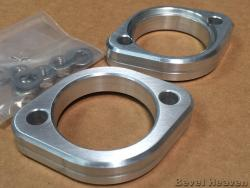 Exhaust Flange Kit For Belt Drive Ducati