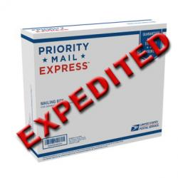 Expedited Shipping Charge - Your Order Shipped TODAY if possible