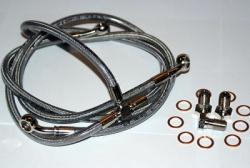 Stainless Steel Front Brake Line Kit - PS1000 and Sport1000 [Sport Classics]