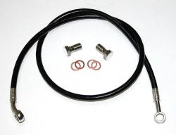 Stainless Steel Rear Brake Line Kit - Allazurra