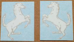 Sticker Set: Prancing Horse - Bronco Fork Legs