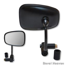 Napolean Bar End Mirror - Black