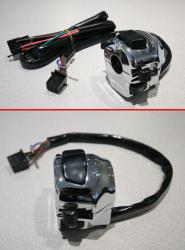 Handlebar Switch, Chrome Universal Turn Signals, horn, headlights etc