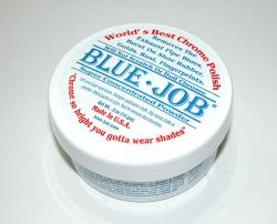 Blue Job Pipe Polish