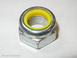 Nylock Nut - Yellow - M6