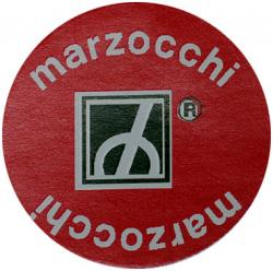 Sticker: Marzocchi Round Red