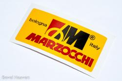 Sticker: MARZOCCHI - yellow background