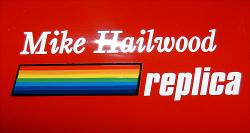 Sticker: Mike Hailwood Replica 'rainbow'