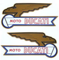 Sticker Set: Moto Ducati