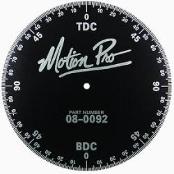 Degree Wheel for Engine Timing