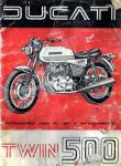 Ducati 500 Parallel Twin Owner Manual - Digital