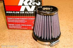 K&N Air Filter - 48mm Cone - PHF