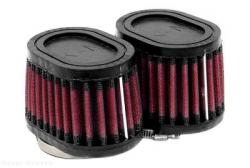 K&N Air Filter Set [2 filters] - Tapered & Offset, Rubber Top