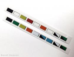 Fuse Box Color Code Sticker Set for Aprilia