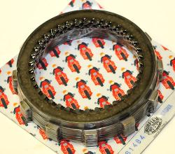 Surflex Clutch Kit - Friction & Steel Plates - 650 Alazurra, 750 F1-A, 750SS [belt] M750 [+ 600SL] - Wet Clutch