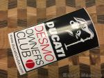 Sticker - Desmo Owners Club