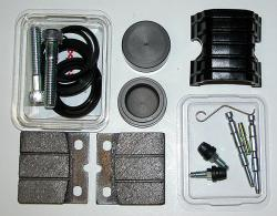 Brembo F08 Caliper Rebuild Kit Special [black pins]