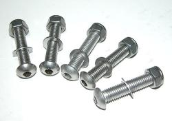 Sprocket Carrier Fasteners - Disk or Drum Kit