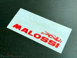 Sticker: Malossi X2 - Red & White