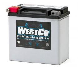 WCP 14 AGM Battery - kick start only twins