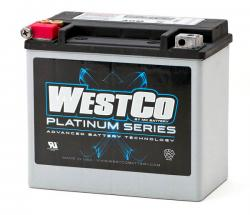 WCP 20 AGM Battery - all elec start twins